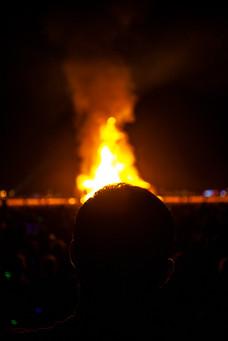 """Burning of the Man"""