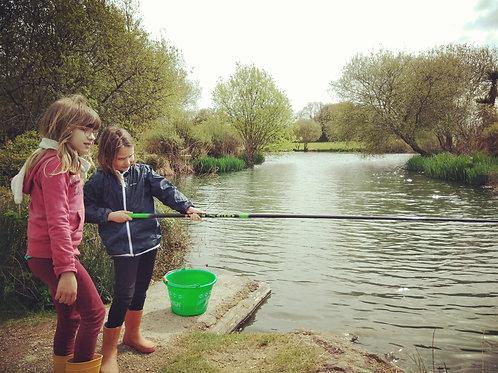 Initiation et perfectionnement en pêche au coup / individuel