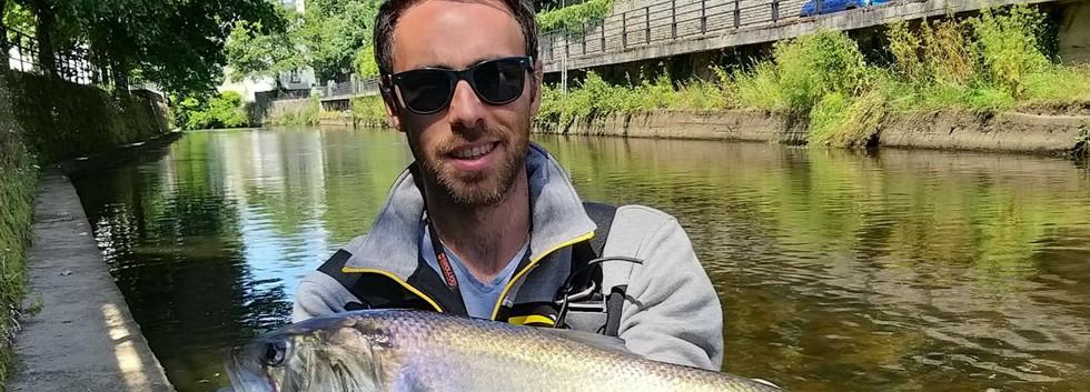 Sébastien Montois - Moniteur, Guide de pêche de Bretagne