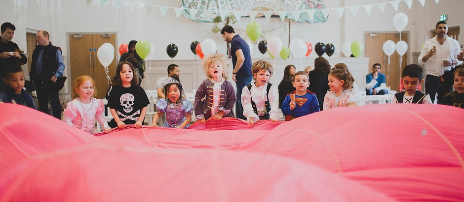 Kids parties can be eco-friendly, here's a few ideas