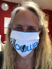 Full Power Utilities face mask