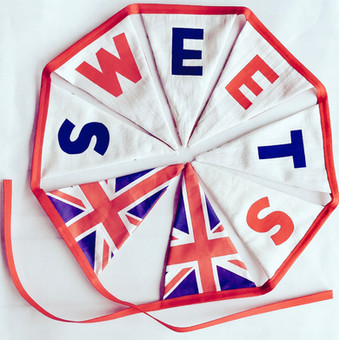 Brittain's Sweets bunting