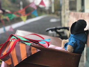Paddington 2 bunting for Warner Bros