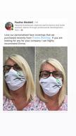 Learn to Grow Edinburgh face mask