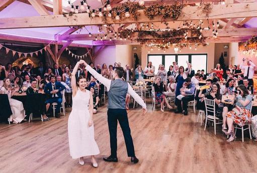Doxford barns wedding bunting
