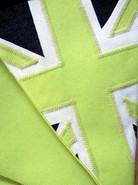 Lime Green Union Jack bunting