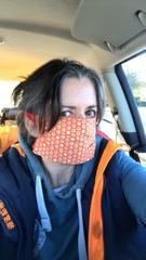 Emma Bunting face mask
