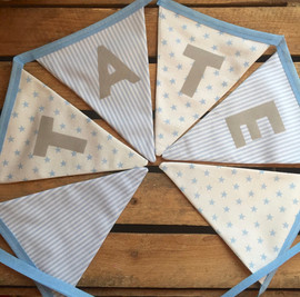 Pale bunting for Tate