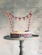 VE Day 75 Union Jack cake bunting