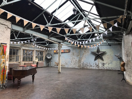 Industrial Chic| Why it works as a wedding venue