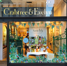 Crabtree-and-Evelyn-display-bunting-by-E