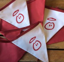 Innocent Drinks bespoke bunting