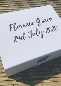 Personalised gift box florence
