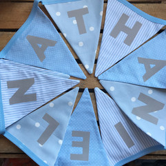 Blue bunting for Nathan