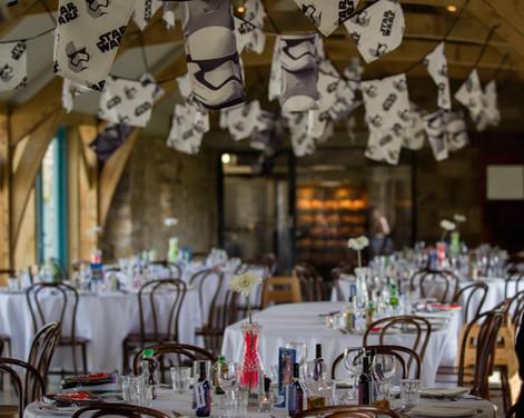 Star Wars themed wedding bunting