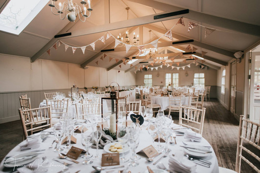 Gold Sequin bunting by Jamie Mac Photography