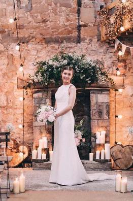Threshing Hall Doxford Barns wedding bunting