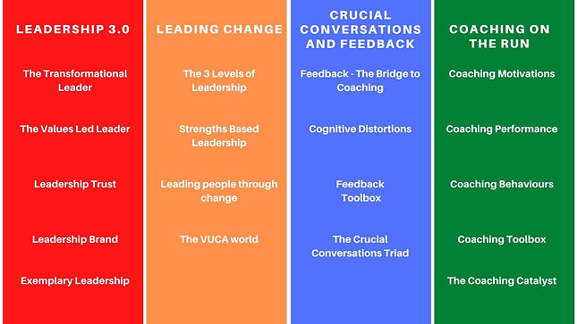 CTG Leadership Development Programme