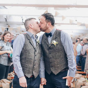 Rustic wedding at The Boiler Shop Newcastle