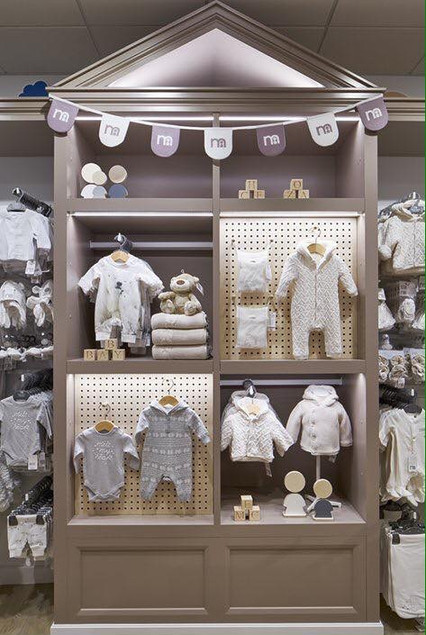 Printed bunting for Mothercare