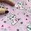 Thumbnail: Bunny Rabbit poly cotton Fabric - FQ
