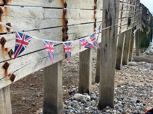 Union Jack 100% Cotton Bunting