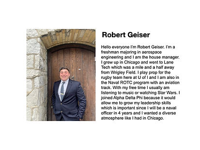 Robert Geiser