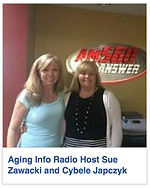 Cybele and Sue Zawacki Aging Info Radio