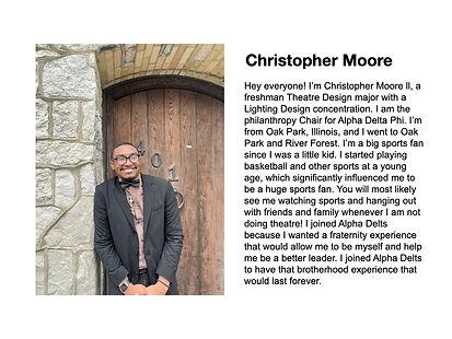 Christopher Moore Alpha Delta Phi
