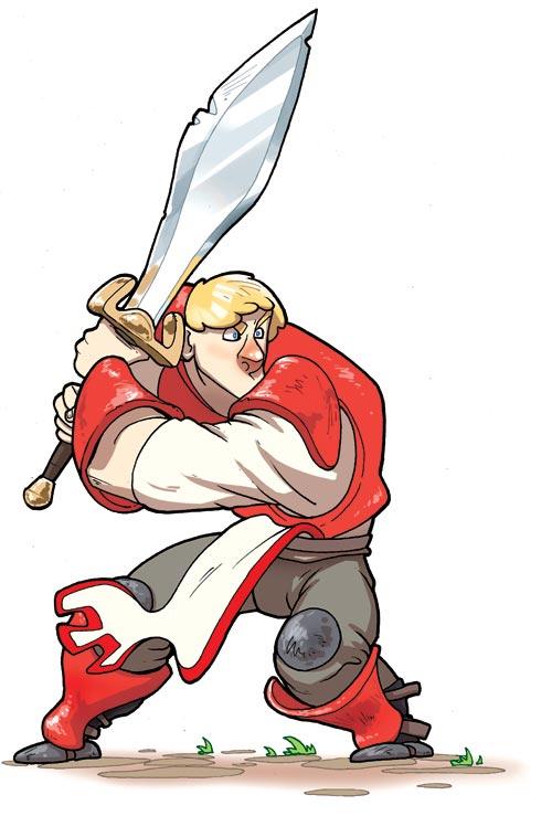Chevalier combattant