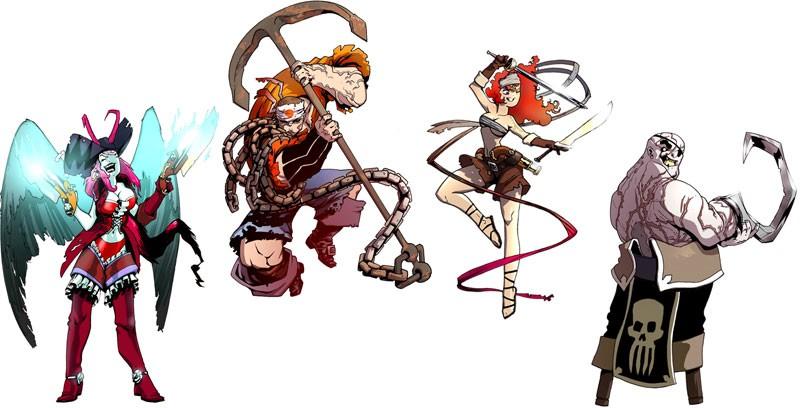 Pirates x 4