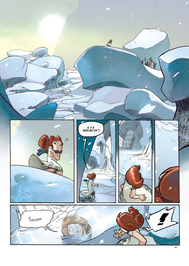 Les Chemins d'Avalon Tome 3 page 1