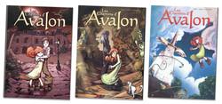 Les Chemins d'Avalon Tomes 1, 2 et 3