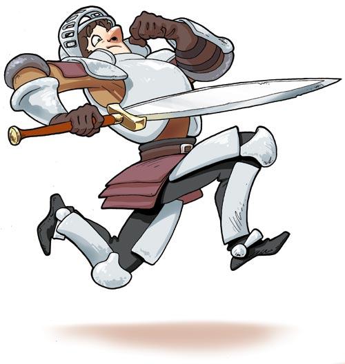 Chevalier courrant