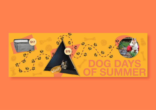 Web Banner - Dog Days of Summer - Social