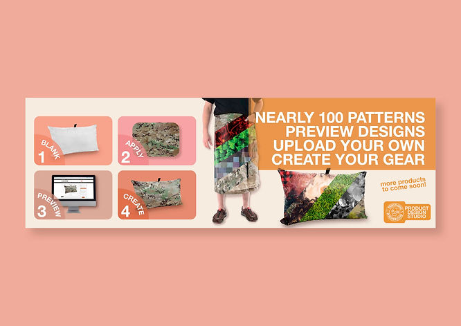 Web Banner - Product Design Studio - Soc