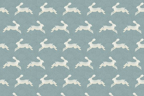 Into the Woods - Hares in Blue