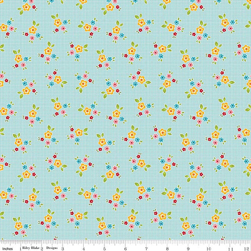 Bloom & Bliss Collection - Bloom Floral in Blue