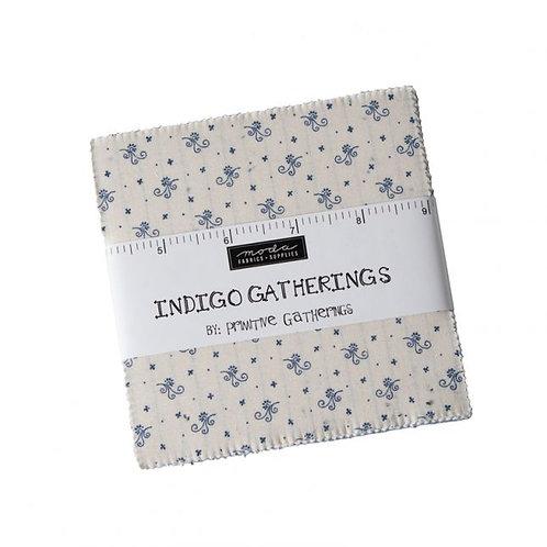Indigo Gatherings - Charm Pack