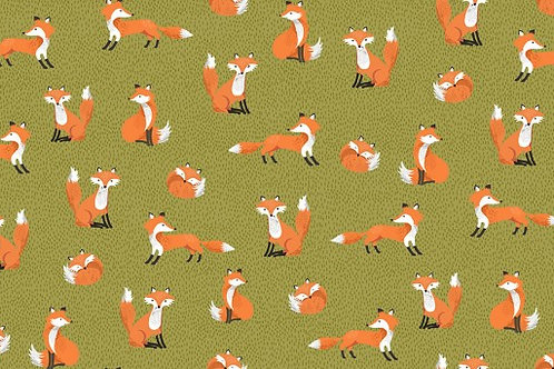 Forest - Foxes in Green