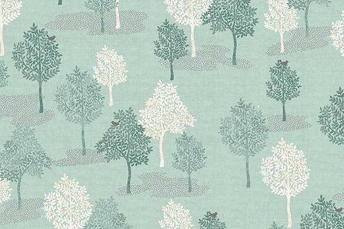 Woodland - Trees in Turquoise