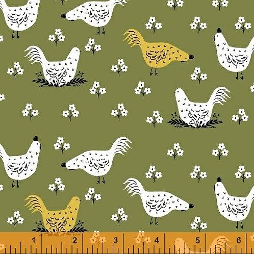 Gardening - Chickens in Green