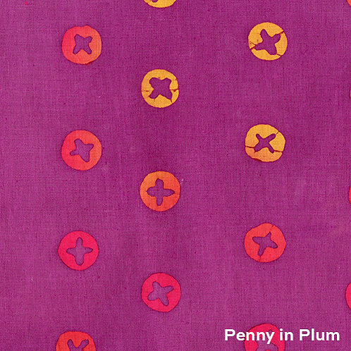Alison Glass Handcrafted - Penny in Plum