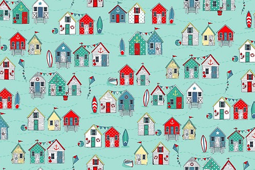 Sea Breeze - Beach Huts in Turquoise
