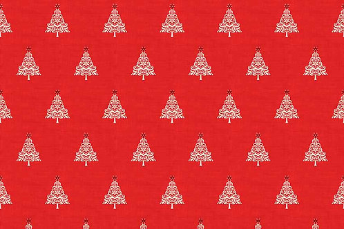 Christmas 2017 Scandi 4 - Scandi Trees in Red