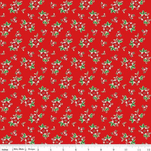 Pixie Noel - Floral in Red