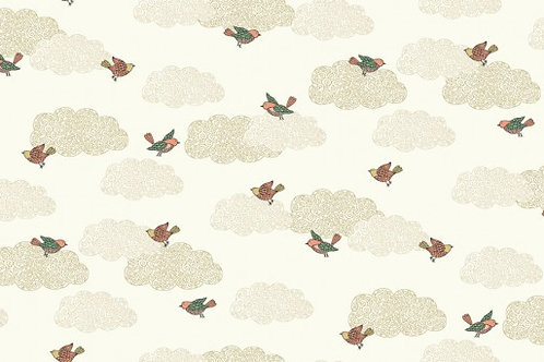 Doodle Days - Clouds in Ivory