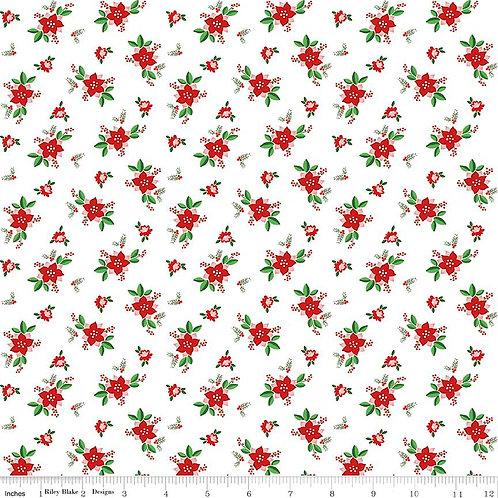 Pixie Noel - Floral in White