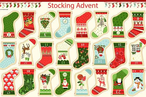Christmas Panels 2016 - Mini Stocking Bunting