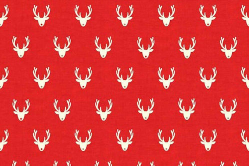 Christmas 2016 Scandi 3 - Stags in Red